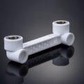 Шаблон для смесителя с двумя выходами Asia Plast